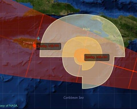 Hurricane Dean - Jamaica, Category 4