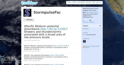 Stormpulse Pacific on twitter